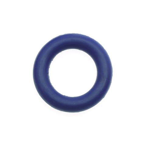 Rubber O-Ring Jump Ring Spacers 10mm Diameter - Cobalt Blue (10)