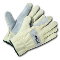 STIHL Value Pro Durable Natural Skin Work Gloves, Extra-Large