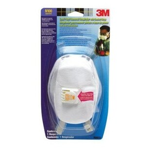 3M 8233PA1-A Lead Paint Removal Respirator With Comfort Strap
