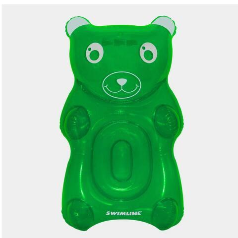 "60"" Green Gummy Bear Swimming Pool Float"