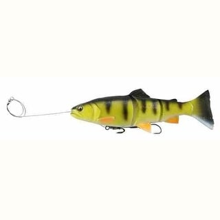 Savage Gear PreRigged Line Thru Swimbait 12' 10.75oz Yellow Perch