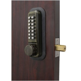 Lockey 2210 Single Sided Adjustable Mechanical Deadbolt from the 2000 Series