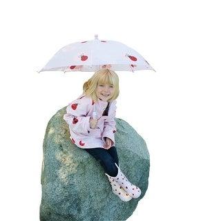 Baby Girls Pink Lady Bug Rain Coat 1T