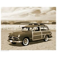 ''Vintage Woody'' by Anon Photography Art Print (11.5 x 14.5 in.)