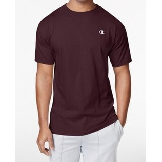 Champion NEW Maroon Red Men's Size Small S Solid Crewneck Tee T-Shirt 090