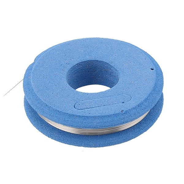 Shop Nichrome 80 Round Wire 0.15mm 35Gauge AWG 10m Roll 61.68Ohm/m ...