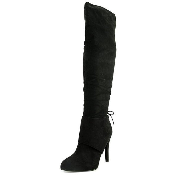 Nina Womens Keely Pointed Toe Knee High Fashion Boots