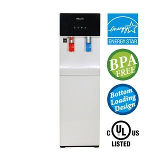 NewAir Pure Spring WAT40W BPA Free Hot/Cold Bottom Loading Water Dispenser - White