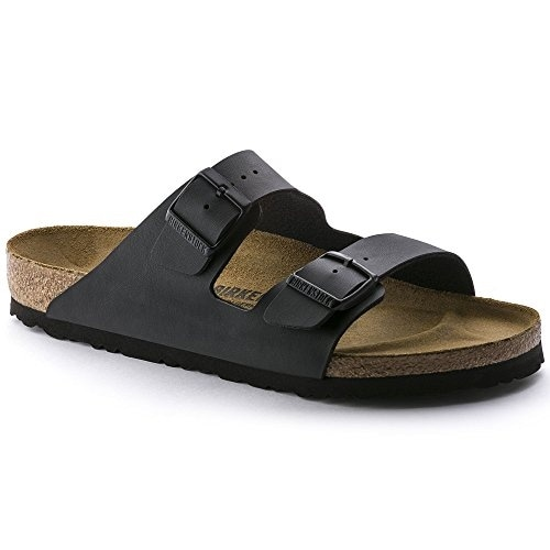 Birkenstock Unisex Arizona Black Sandals - 36 M EU / 5-5.5 2A(N) US