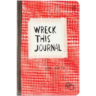 "Red - Wreck This Journal Expanded Edition 5.5""X8.25"""