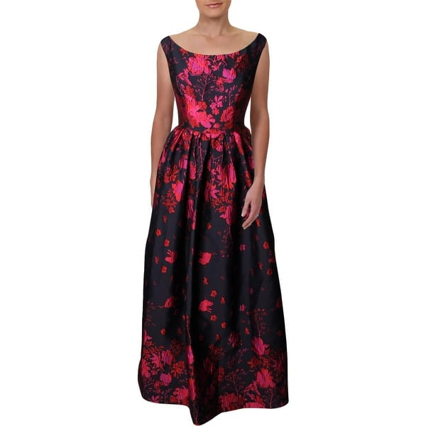 9db19bd329 Shop Carmen Marc Valvo Womens Evening Dress Brocade Sleeveless ...