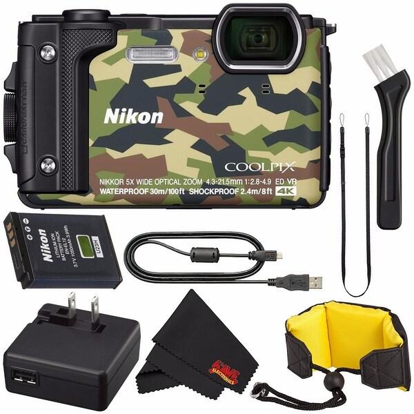 Microfiber Cloth Bundle: Shop Nikon COOLPIX W300 Digital Camera (Camouflage) Intl