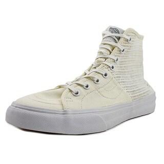 Vans SK8-Hi Decon SPT Men Round Toe Canvas White Sneakers