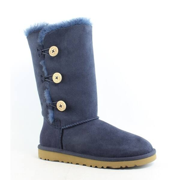 a2fa2aa5c2c Shop UGG Womens Bailey Button Triplet Snow Boots Size 6 - Free ...
