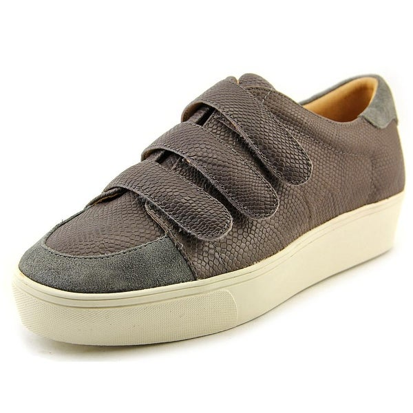 Nine West Hidrate Women Leather Gray Fashion Sneakers