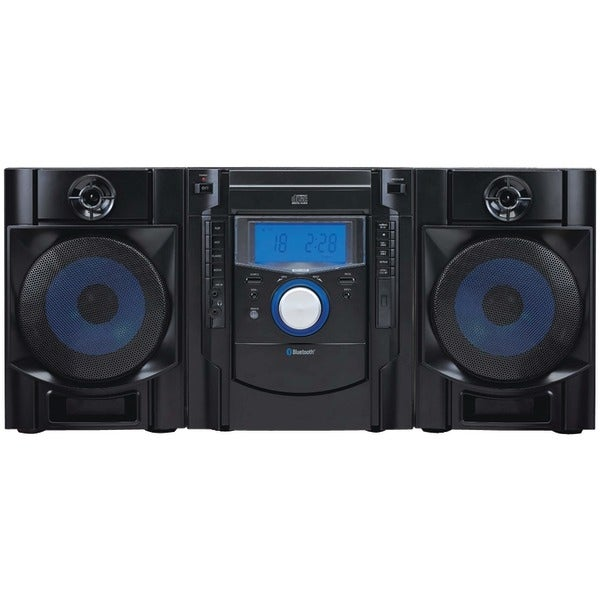 Sylvania Srcd2731Bt Bluetooth(R) Cd Radio Micro System With Blue Led Display