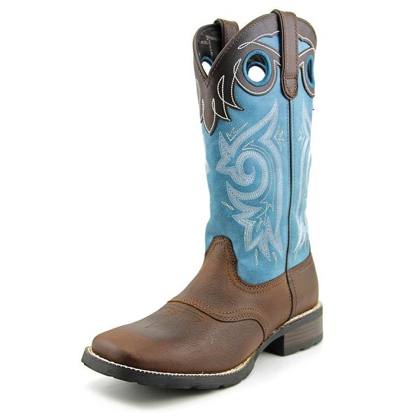 Durango Gambler   Square Toe Leather  Western Boot