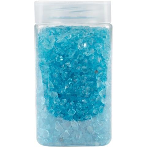 Crushed Glass Vase Filler 500Gr-Turquoise
