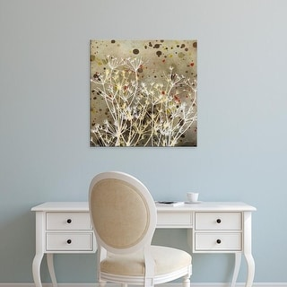 Easy Art Prints James Burghardt's 'Weeds I' Premium Canvas Art
