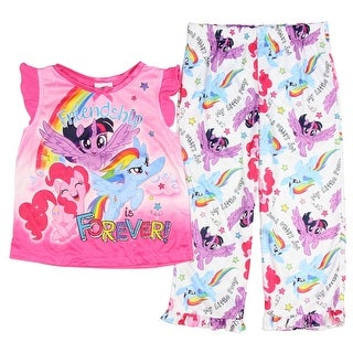 My Little Pony Girls' Toddler Friendship Is Forever 2-Piece Pajama Set
