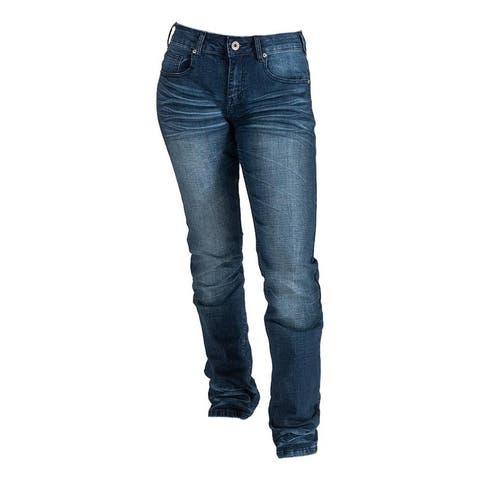 Cowgirl Tuff Western Jeans Womens Mesa Bootcut Earth Tone Dark