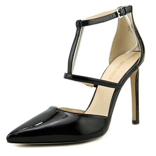 Nine West Tornaydo Open Toe Synthetic Platform Heel