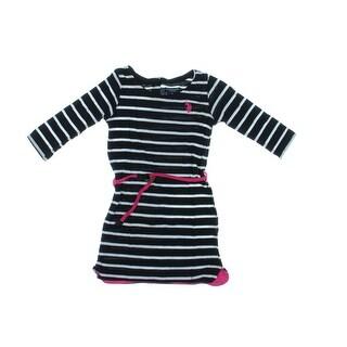 U.S. Polo Assn. Girls Tunic Top Striped (Option: 6x)