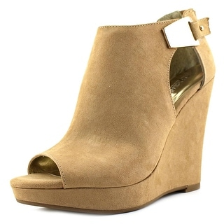 Carlos by Carlos Santana Manchester   Open Toe Canvas  Wedge Heel