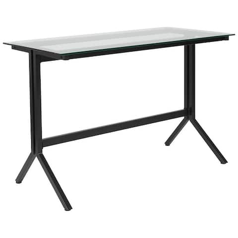 Computer Desk with Metal Frame
