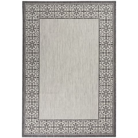 Nourison Garden Party Trellis Indoor/Outdoor Area Rug