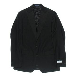 Ryan Seacrest Mens Wool Slim Fit Two-Button Suit Jacket - 40L