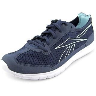 Reebok Sport Ahead Action Rs Women Indigo/White/Cool Breeze Walking Shoes