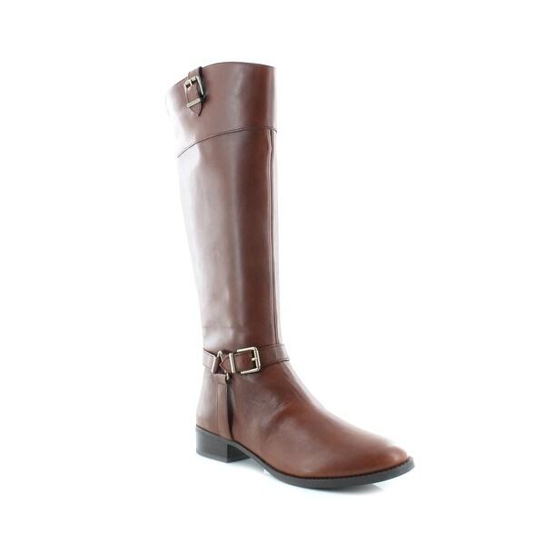 INC Fedee Women's Boots Cognac