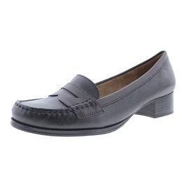 Naturalizer Womens Balfour Leather Dress Loafers