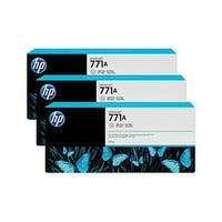 HP 771A 3-pack 775-ml Light Gray DesignJet Ink Cartridges (B6Y46A) (Single Pack)