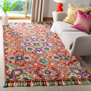 Link to Safavieh Handmade Aspen Romy Boho Tribal Wool Medallion Rug Similar Items in Casual Rugs