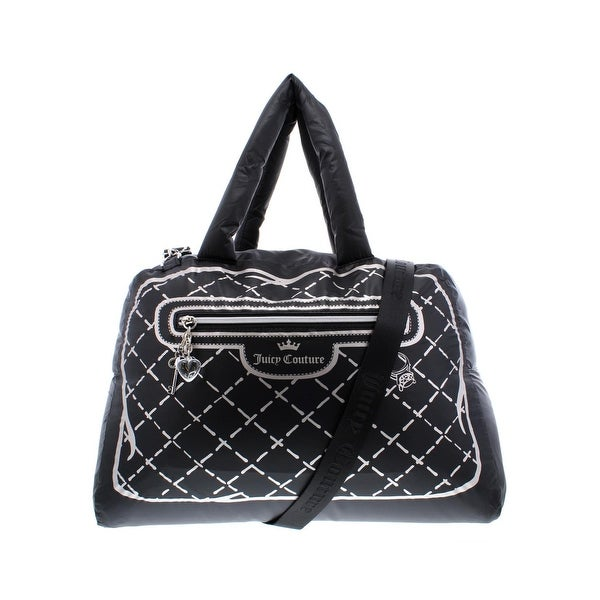 e43a6921d Juicy Couture Womens Faux Real Weekender Handbag Printed Convertible - Large