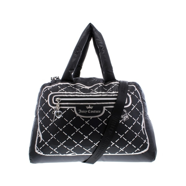 91ce7333af Juicy Couture Womens Faux Real Weekender Handbag Printed Convertible - Large