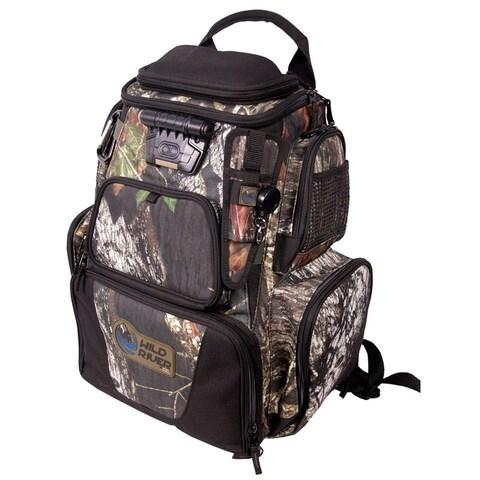Wild River Nomad Mossy Oak Tackle Tek Lighted Backpack - WCN604