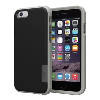 Incipio Phenom Case Cover for Apple iPhone 6/6s (Black/Gray)