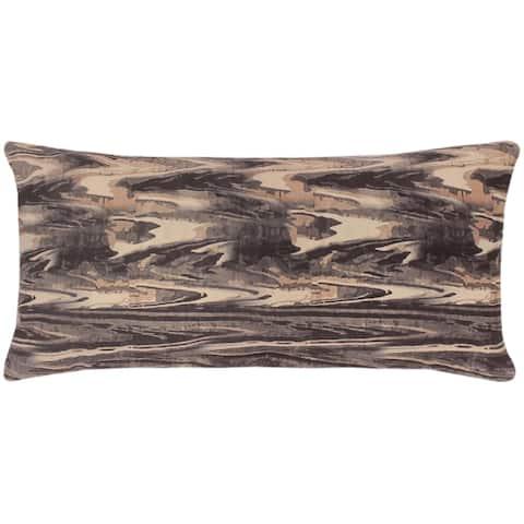 Boho Chic Batten Printed Italian Velvet Handmade Pillow