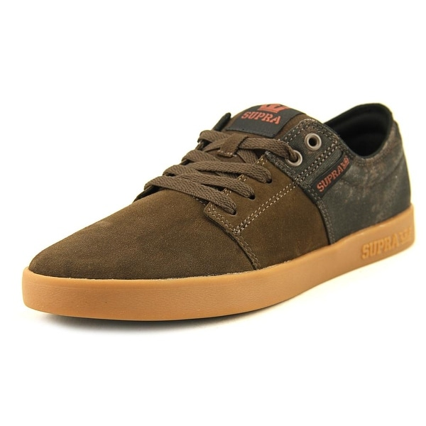 Supra Stacks II Men Demitasse/Gum Skateboarding Shoes
