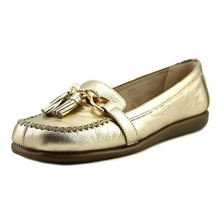 Aerosoles Super Soft Women  Round Toe Leather Gold Flats