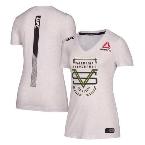 Reebok Womens Valentina Shevchenko Graphic T-Shirt