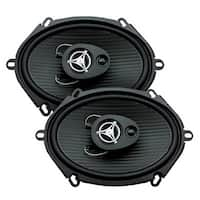 "Power Acoustik Reaper 5x7"" 3 way 500 Watts"