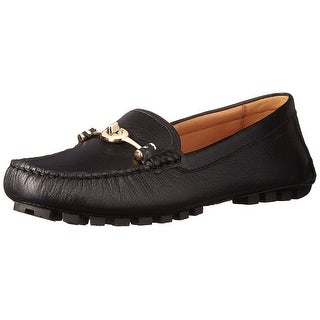 Coach Womens Arlene Leather Closed Toe Loafers