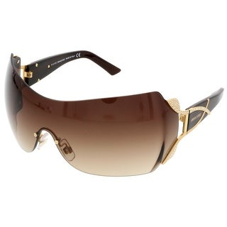 Swarovski SK0052/S 30F Brown Mask/Shield Sunglasses