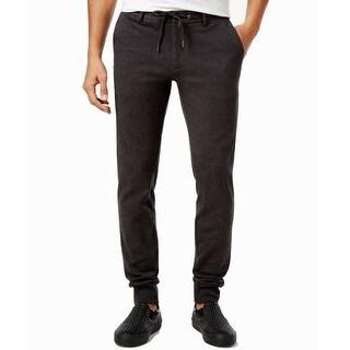 Calvin Klein NEW Smoke Gray Mens 38x30 Drawstring Slim-Fit Jogger Pants