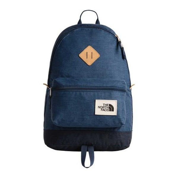 04406eab8d The North Face Berkeley Backpack Shady Blue Light Heather/Urban Navy Light  Heather - US