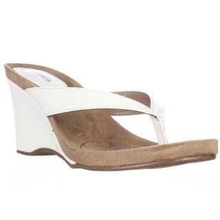 Link to Style & Co. Womens Chicklet Open Toe Casual Platform Sandals Similar Items in Women's Shoes